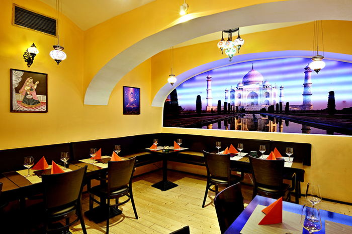 The best place to enjoy different and exciting Indian lunch menu in Prague